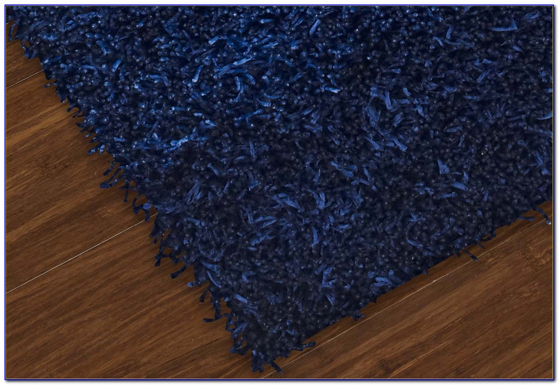 Blue Shag Rugs