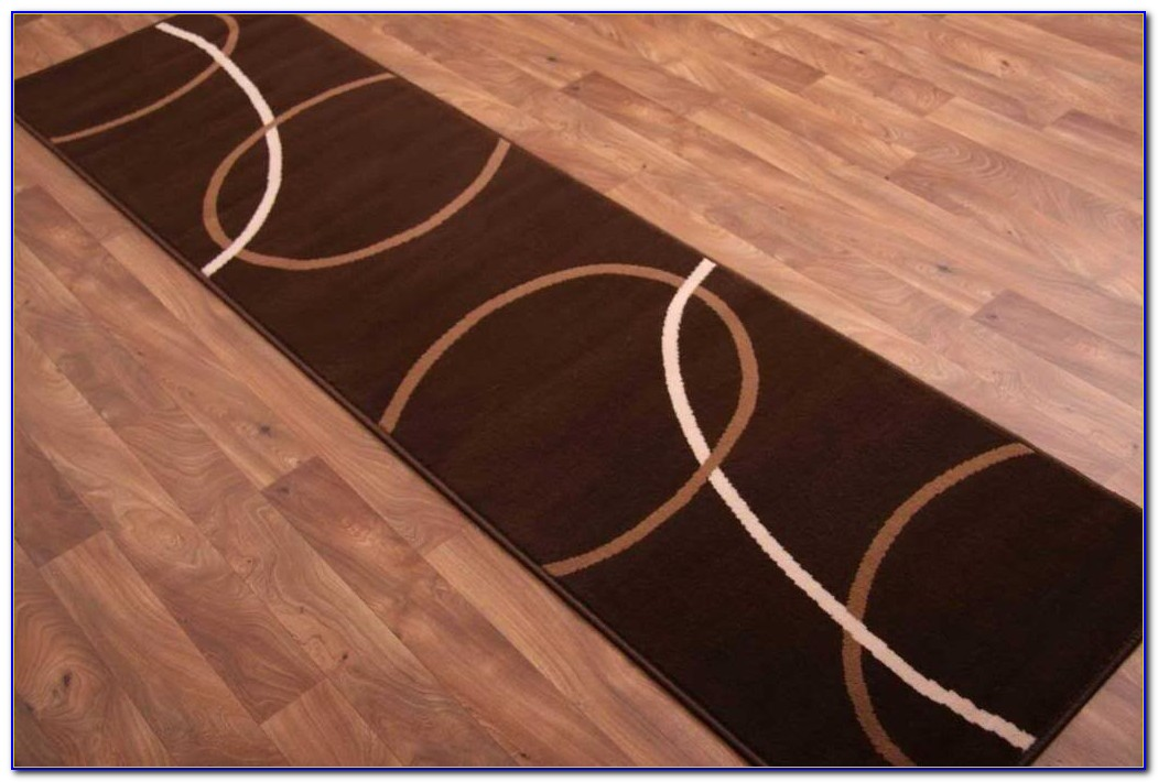 Brown Runner Rug