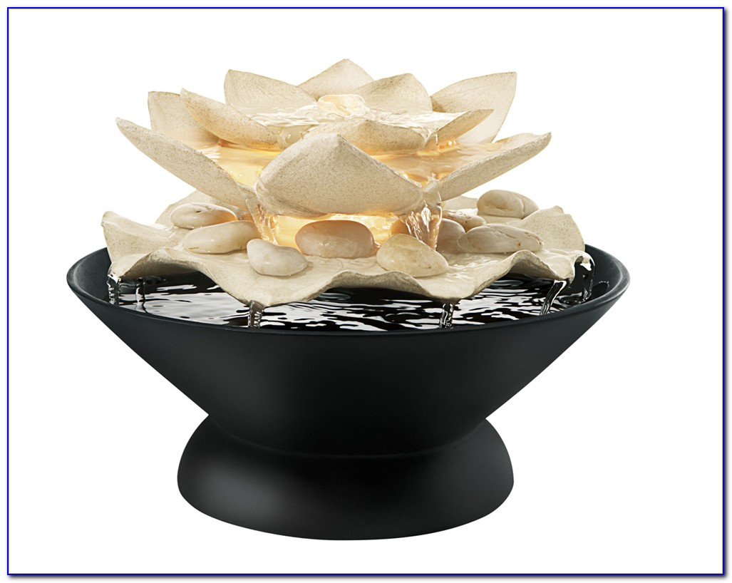 Buddha Indoor Tabletop Water Fountain