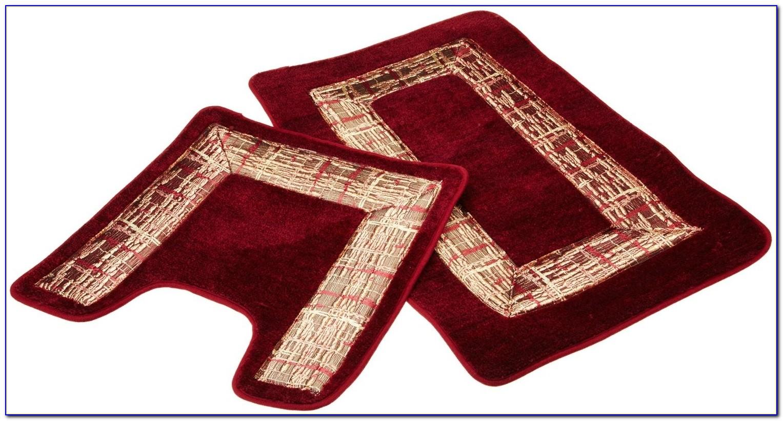 Burgundy Bath Towels And Rugs