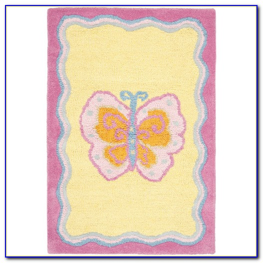 Butterfly Shaped Area Rug