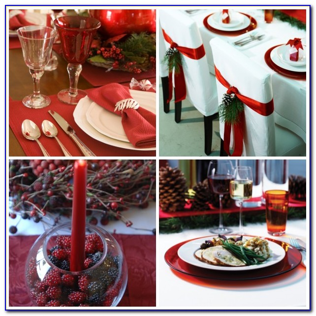 Christmas Table Decorations Centerpieces