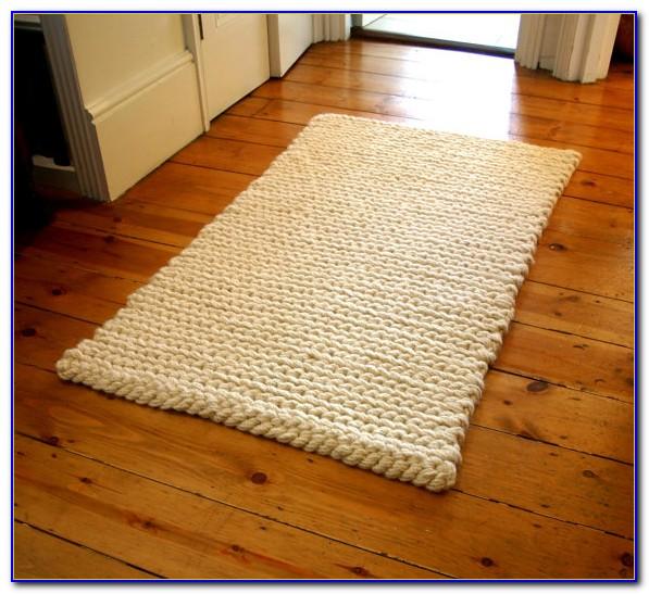 Chunky Wool Rug Australia