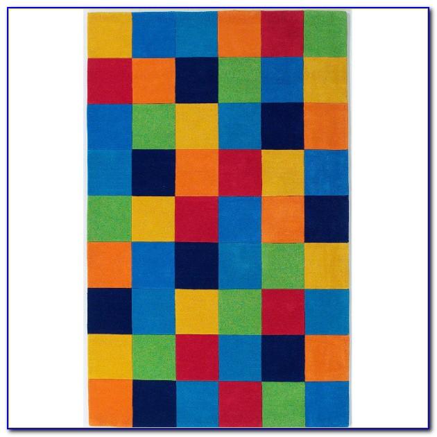 Color Block Rug 8 X 10