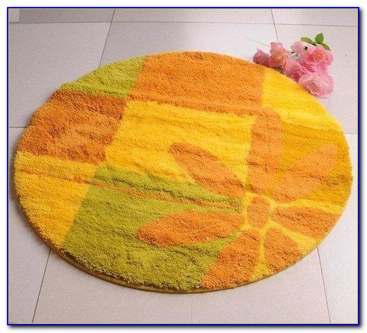Colorful Bath Rug Sets