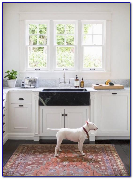 Corner Kitchen Sink Rug
