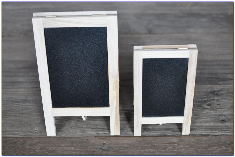 Decorative Tabletop Chalkboard Easel