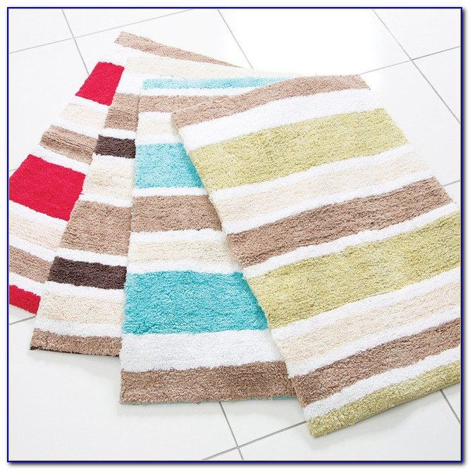 Designer Bathroom Rug Runners