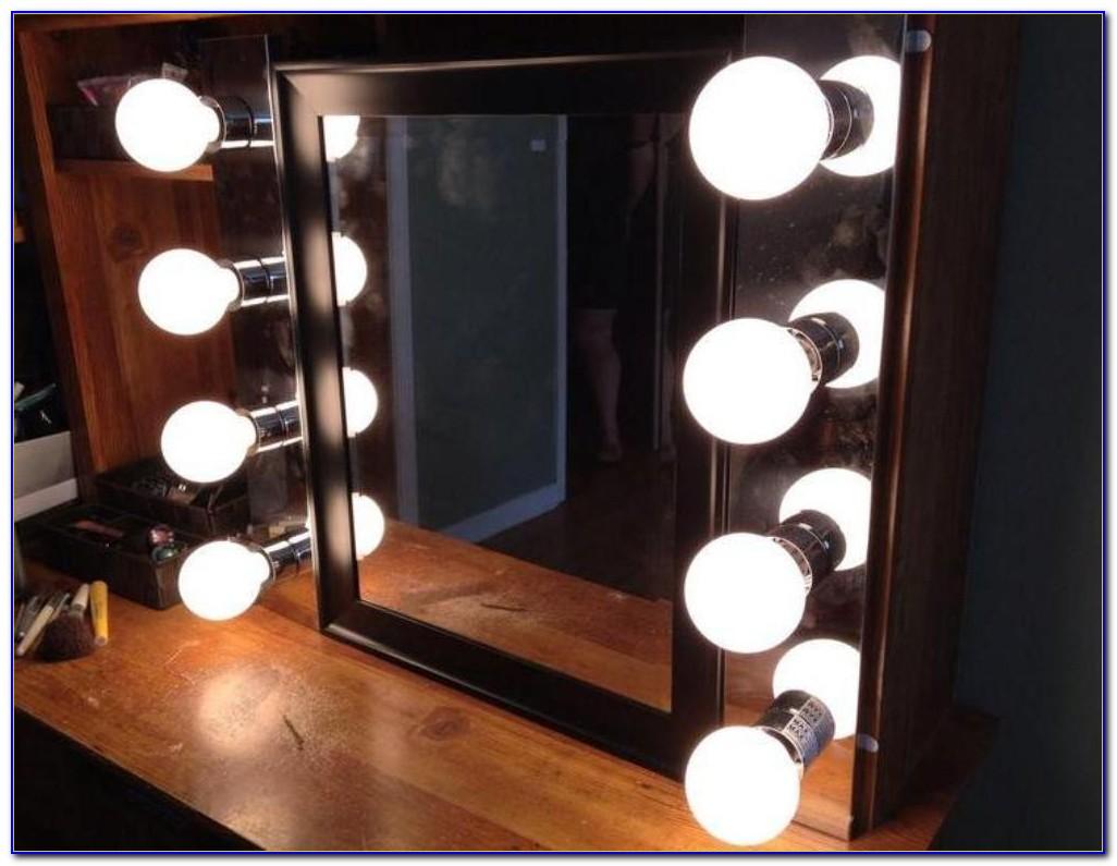 Diy Tabletop Vanity Mirror With Lights
