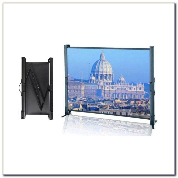 Eyeline Tabletop Projector Screen