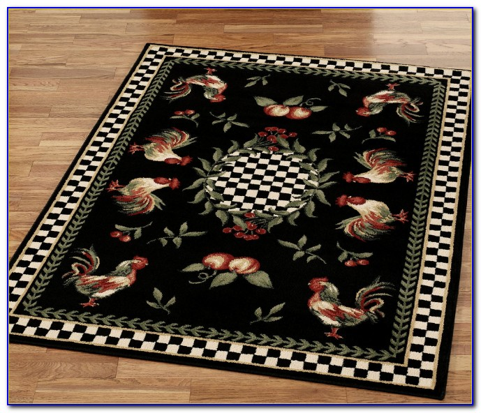 French Country Rooster Area Rugs