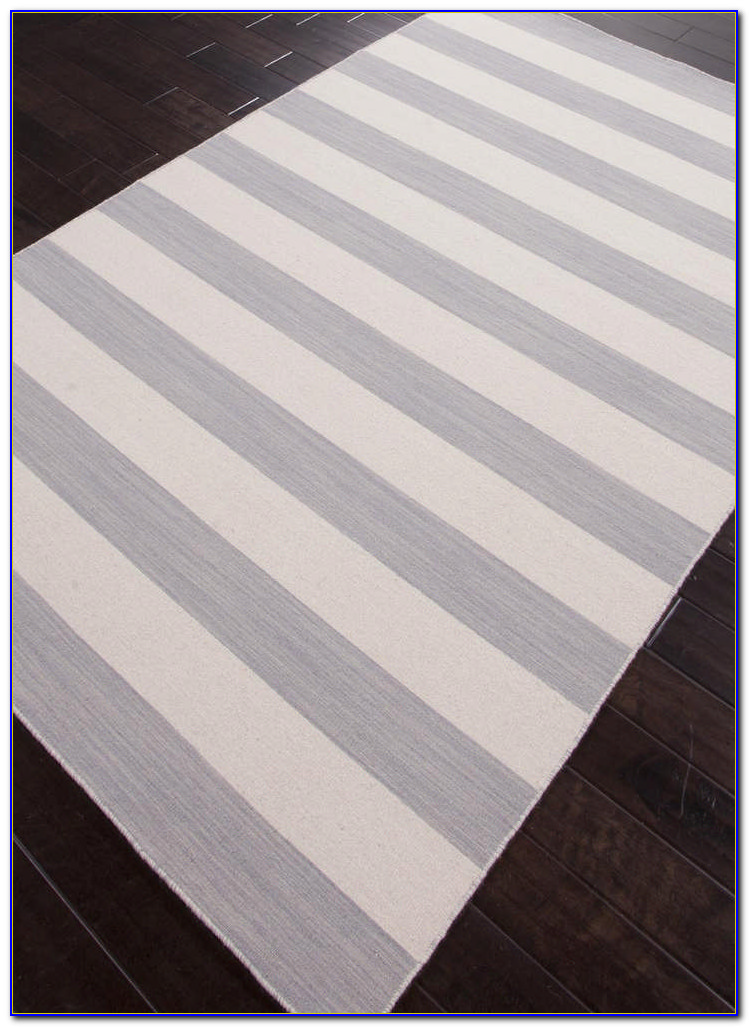 Grey Rugby Stripe Duvet Cover