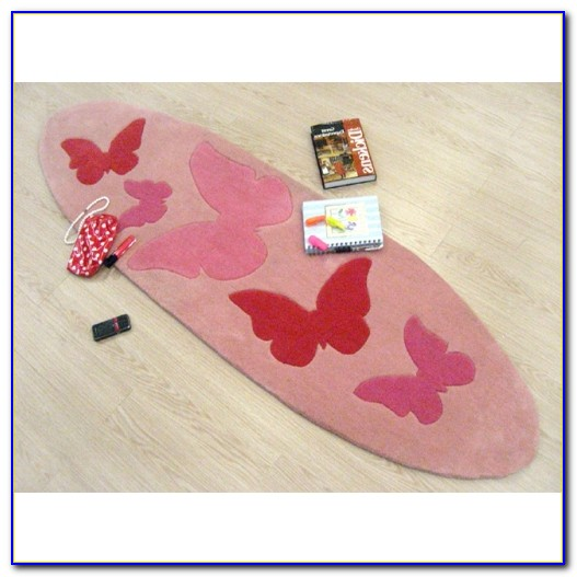 Large Butterfly Area Rug