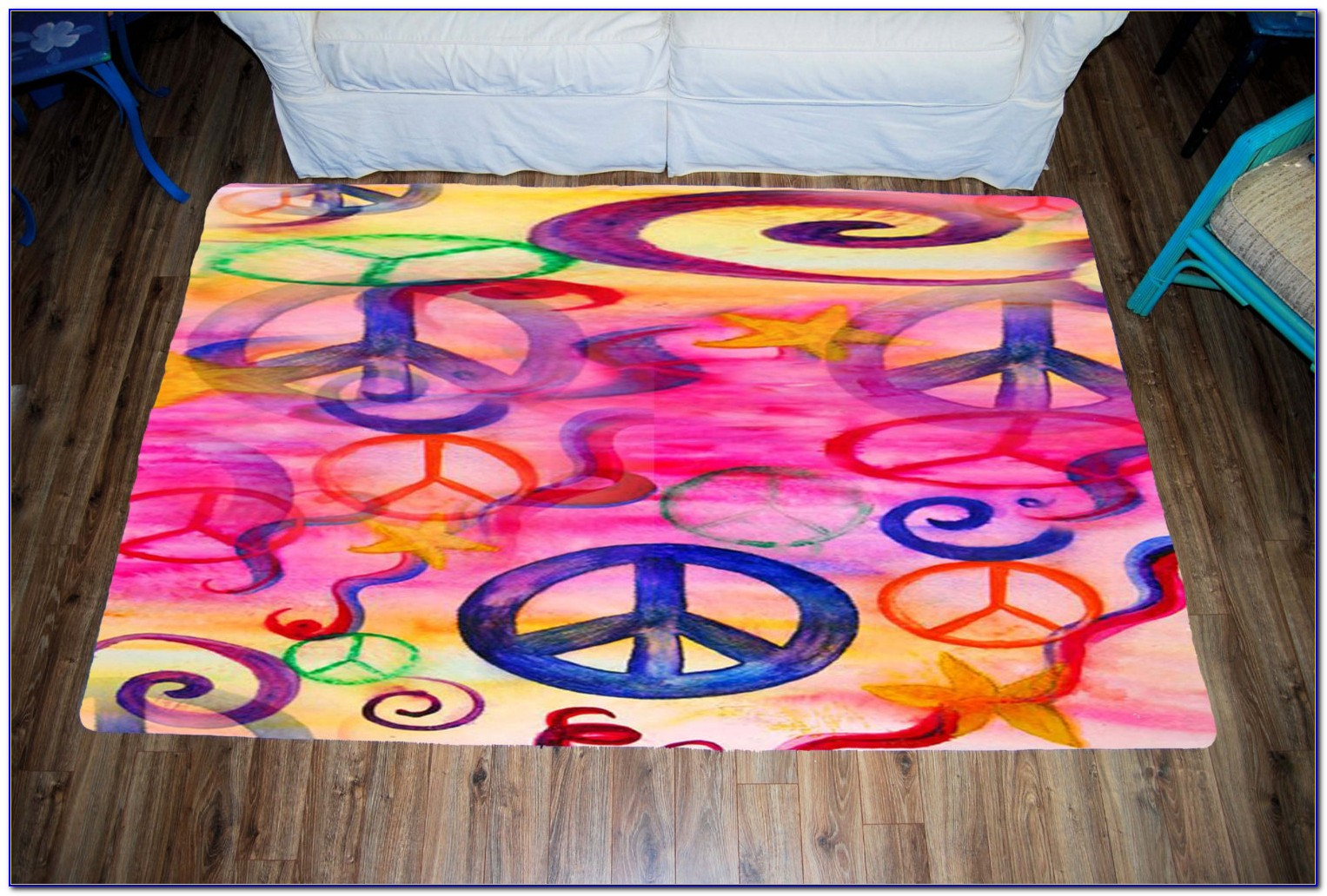 Large Plush Area Rugs