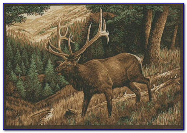 Large Wildlife Area Rugs