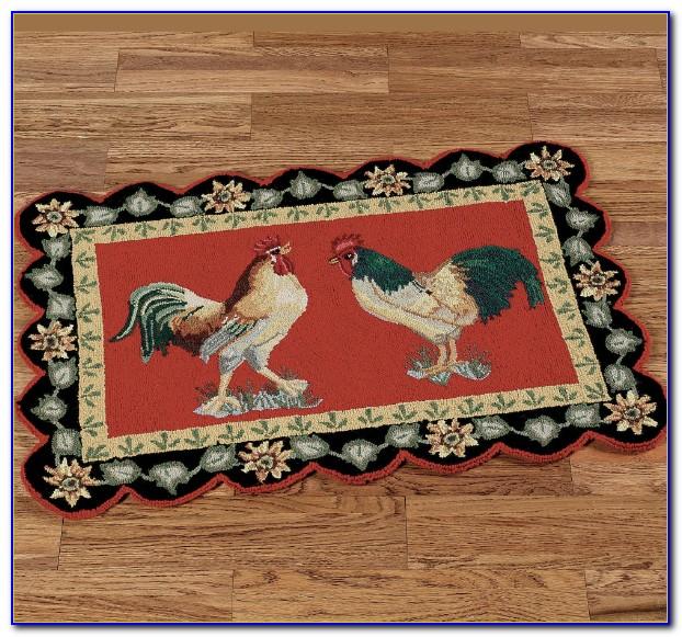 Mohawk Rooster Kitchen Rug