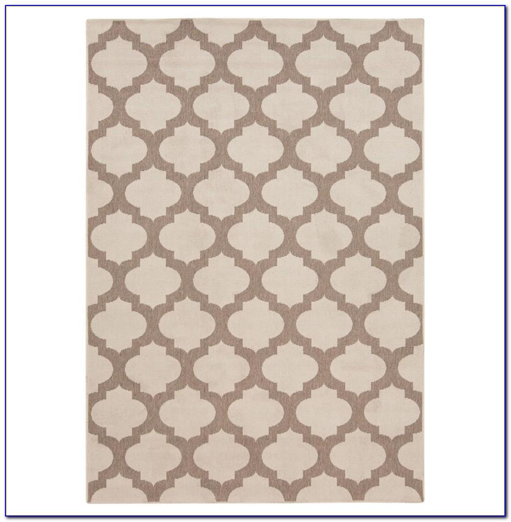 Moorish Tile Rug Ivory