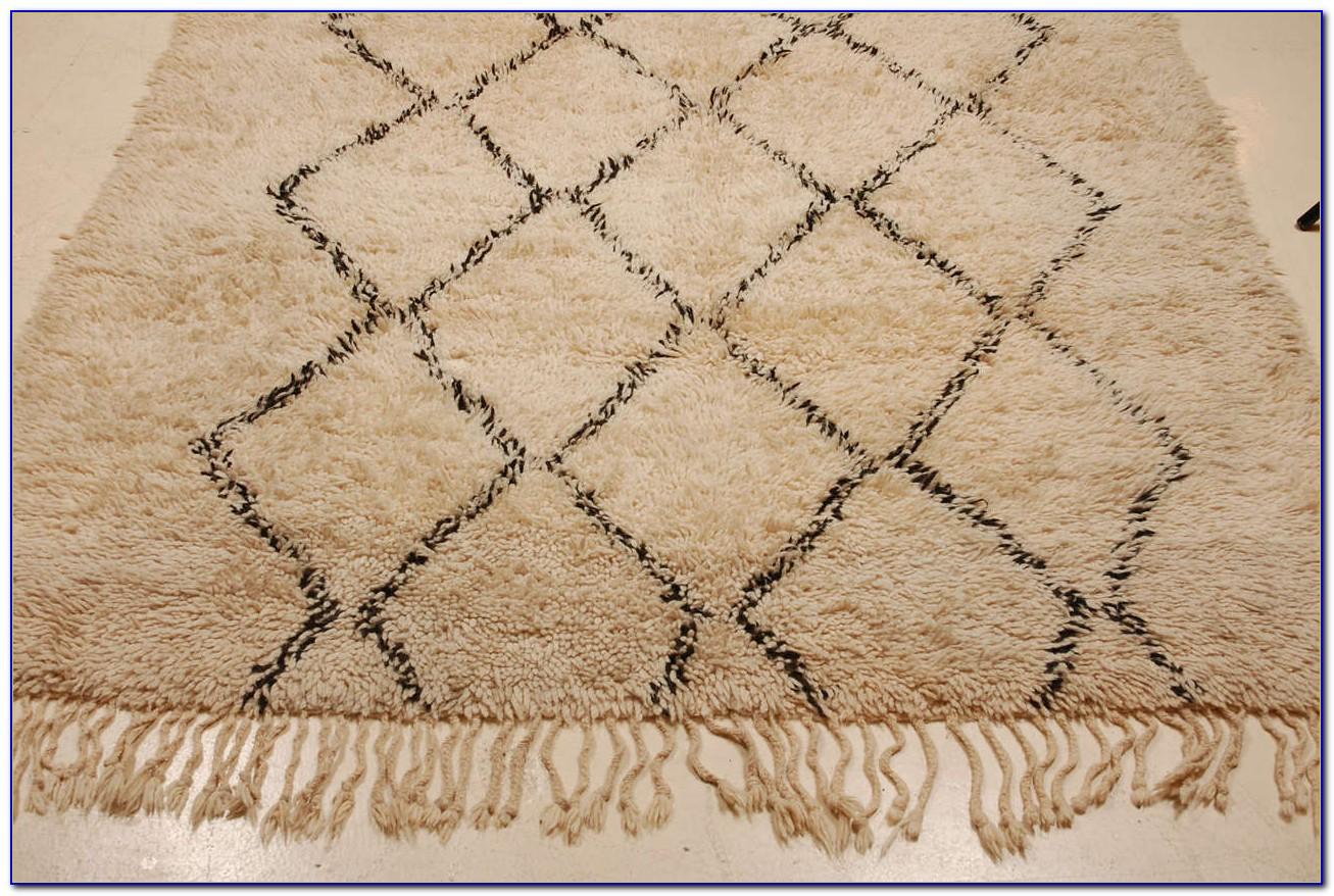 Moroccan Trellis Wool Rug