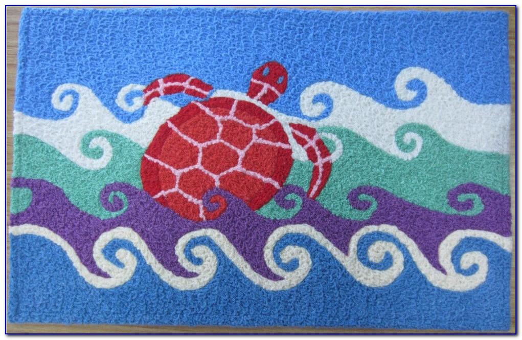 Nautical Theme Hooked Rugs