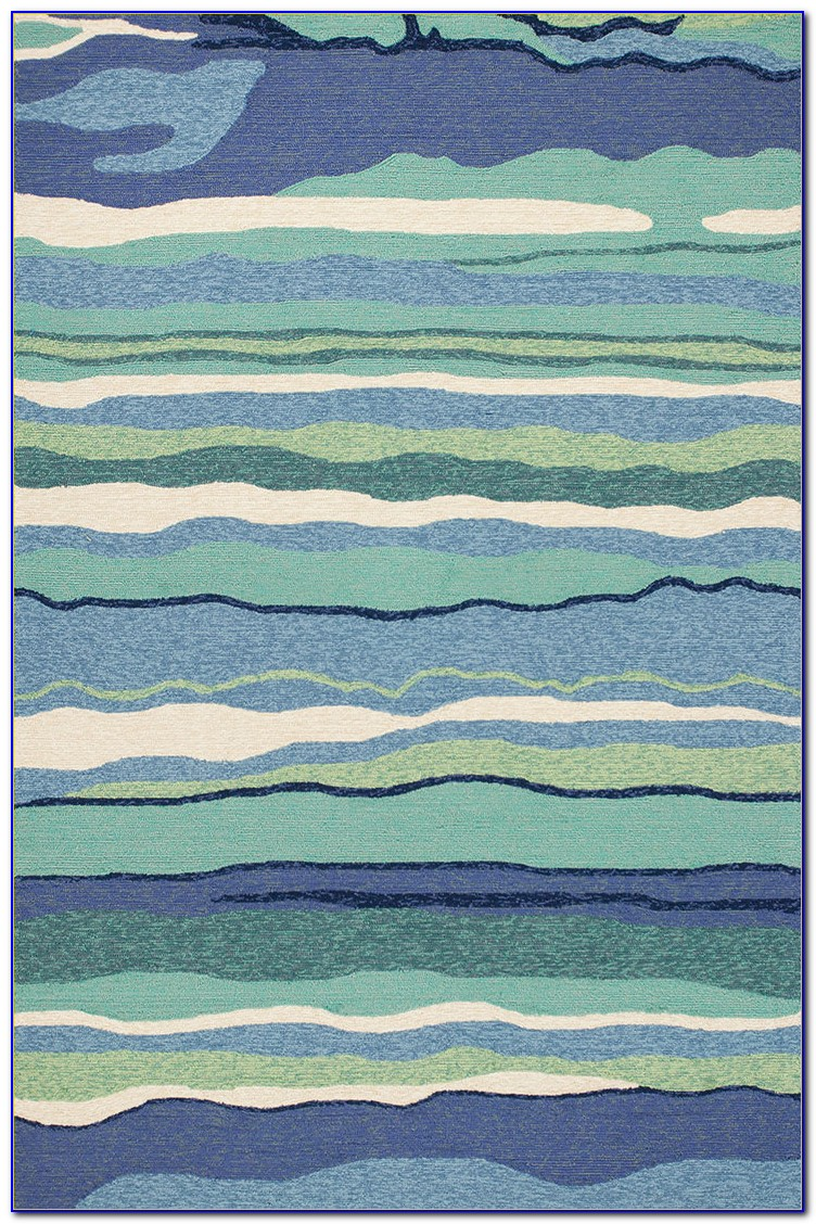 Ocean Blue Area Rugs
