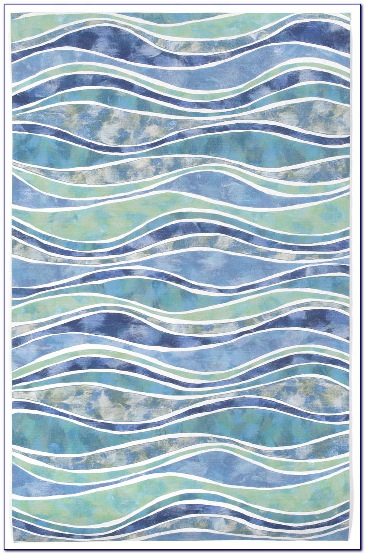 Ocean Wave Area Rug