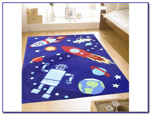 Outer Space Area Rug