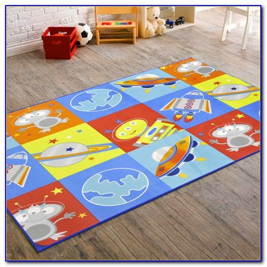 Outer Space Themed Rugs