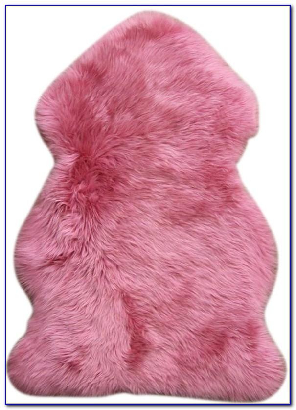 Pink Sheepskin Rugs Australia