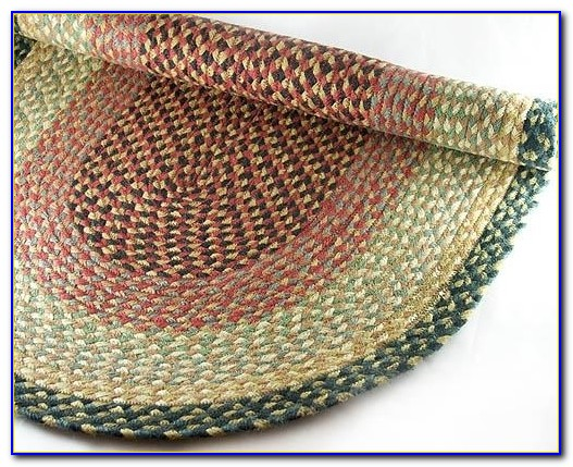 Primitive Oval Braided Rugs