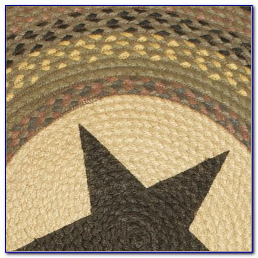 Primitive Round Braided Rugs