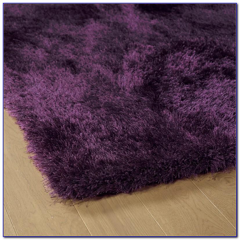Purple Shaggy Rug Ebay