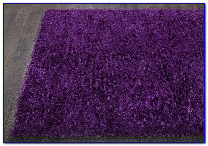 Purple Shaggy Rug Next