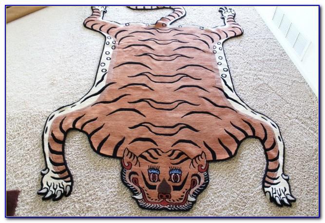 Real Tiger Rug