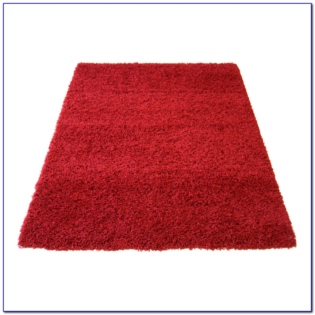 Red Shaggy Rugs Next