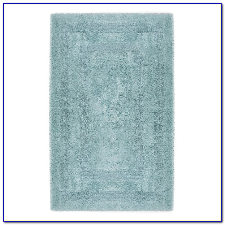 Reversible Cotton Bath Rug Sets