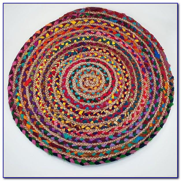 Round Rag Rug Pattern