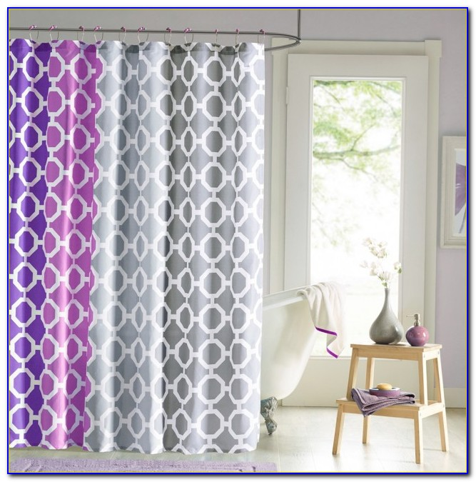 Shower Curtain Rug And Towel Set