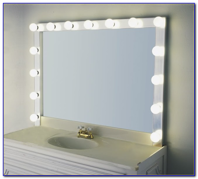 Small Tabletop Makeup Mirror
