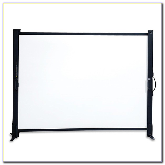 Small Tabletop Projector Screen
