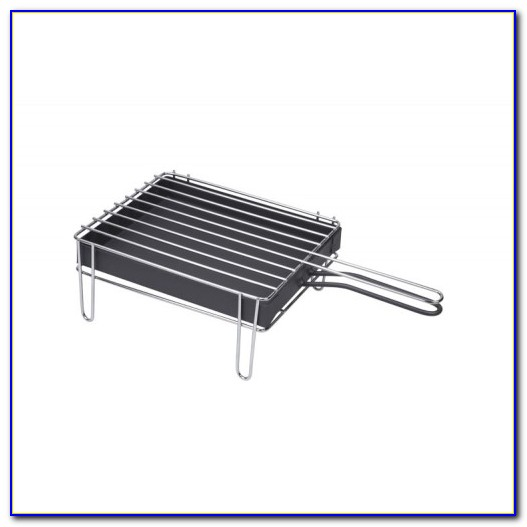 Stainless Steel Tabletop Charcoal Grill