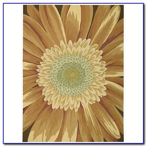 Sunflower Kitchen Area Rugs