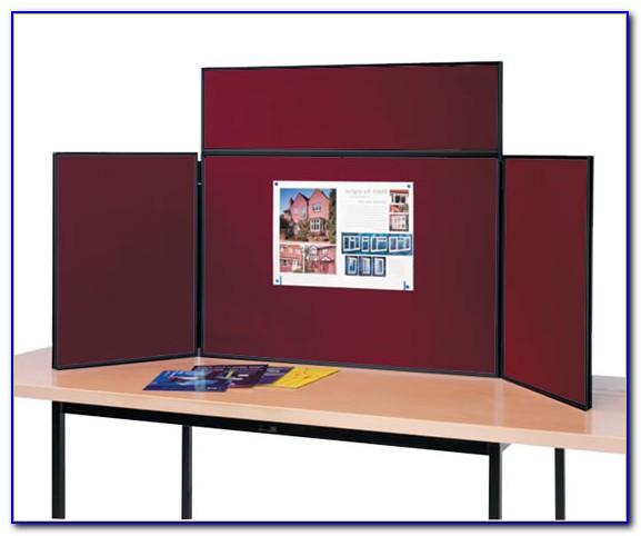 Table Top Display Boards For Trade Shows