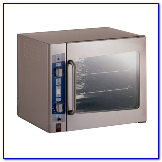 Tabletop Convection Oven Cooking