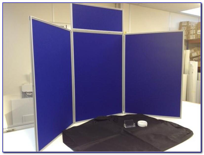 Tabletop Display Board Velcro