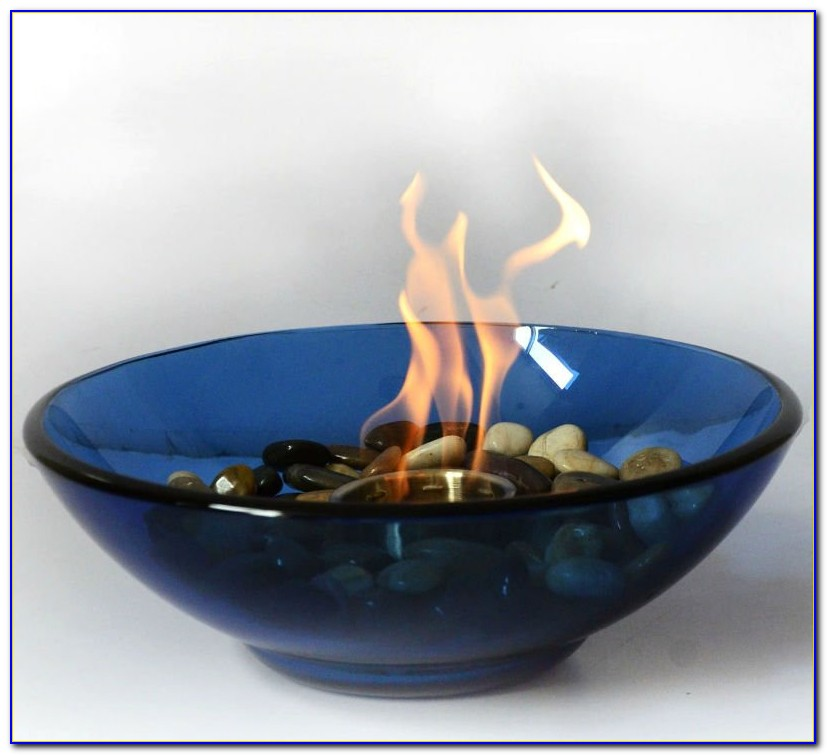 Tabletop Fire Bowl Indoor