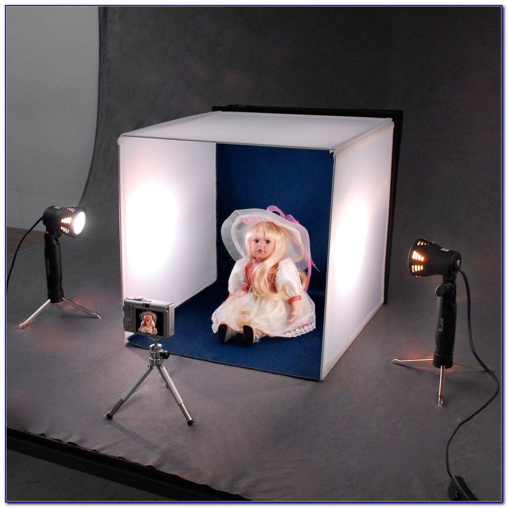 Tabletop Light Box Photography