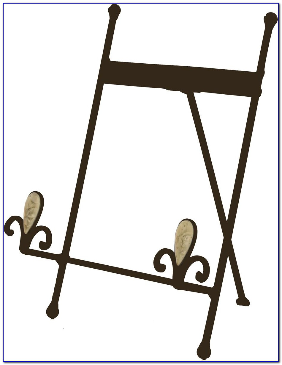 Tabletop Metal Easel Stands