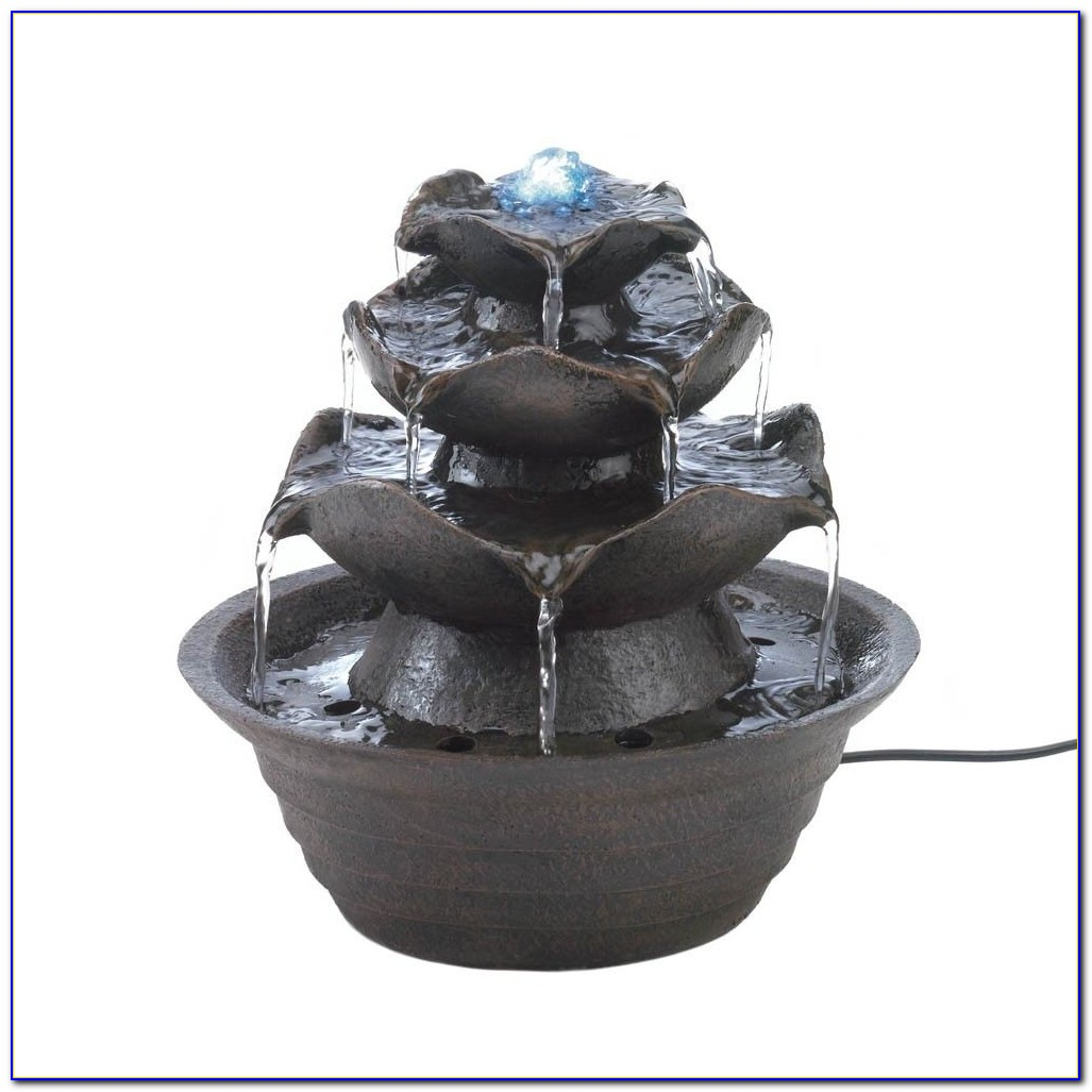 Tabletop Water Fountain Ideas