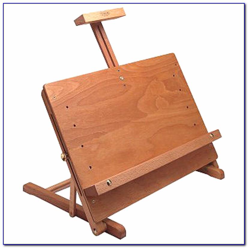 Wooden Tabletop Display Easels