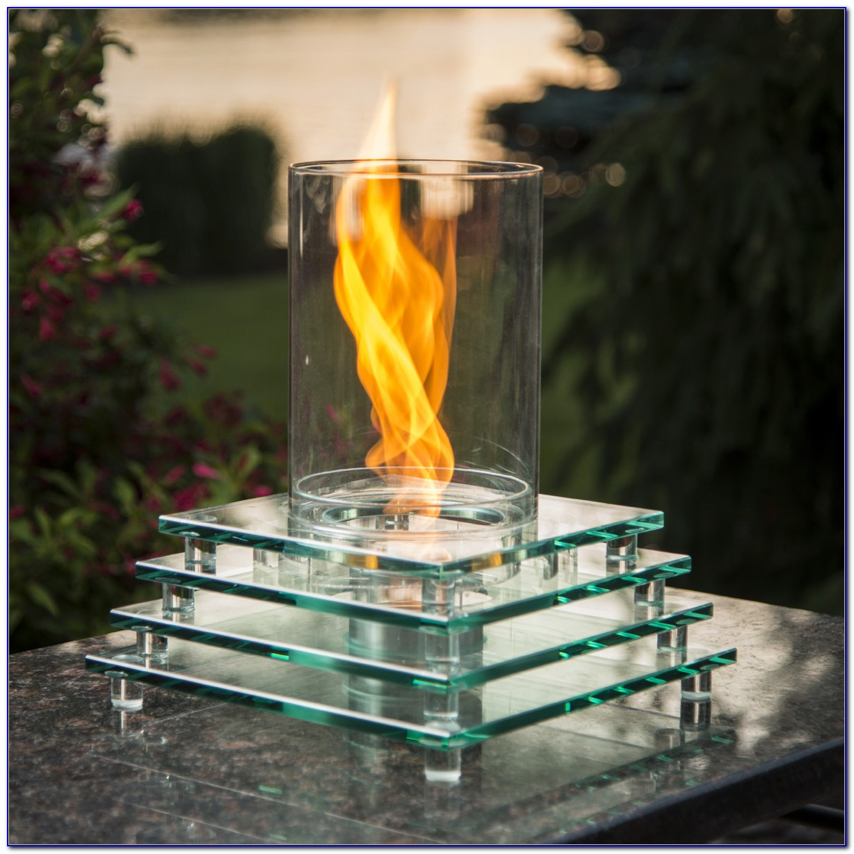 1ib Brighten Tabletop Gas Fire Pit
